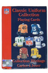 NFL Classic Uniforms Playing Cards